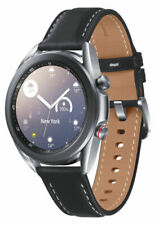 Samsung Galaxy Watch3 SM-R855F 41mm Mystic Silver Stainless Steel Case with...
