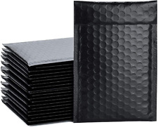 New listing 50Pcs Poly Bubble Lined Wrap Polymailer Bags for Shipping/ Packaging/ Mailing
