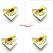 3 x Fly Trap Insect Insects Killer Catcher Bugs Fly's Window Sticker Sunflower