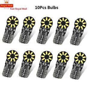 10X 18 SMD T10 CAR BULBS LED ERROR FREE CANBUS XENON WHITE W5W 501 SIDE LIGHT