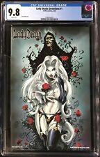 Lady Death Devotions #1 CGC 9.8 Ken Hunt Apocalyptic Abyss Kickstarter Add-on!