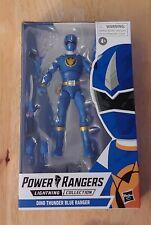 Hasbro MMPR Power Rangers Lightning Collection Dino Thunder Blue no extra head