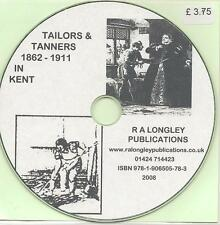 Tailors & Tanners of Kent A-Z 1851-1911 [Kelly's County Directories]