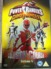 POWER RANGERS - Dino Thunder - Collision Course - vol.4 Rara OOP 2005 UK DVD