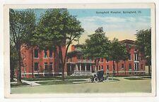 Springfield Hospital Springfield Il - Vintage Illinois Postcard
