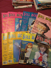 DOLL WORLD MAGAZINE 1985   8 ISSUES