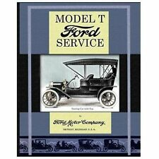 Model T Ford Service Book~1920s Reprint~Overhaul~Troubleshoot~1925 New Model~NEW