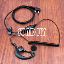 Clip Ear Headset Earpiece with Boom Mic For Unden Handheld UHF CB Radio VOX/PTT