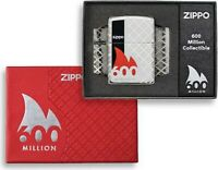 ZIPPO - FEUERZEUG - 600 MILLION - LIMITED EDITION - 60005526 - LIMITIERT - NEU