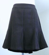 BANANA REPUBLIC Black A-Line Flutter Hem Skirt Sz 6