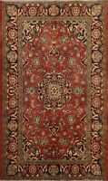 4'x6' Vintage Floral Ardakan Hand-knotted Area Rug Traditional Oriental Carpet