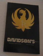 Davidson'S Guns & Ammo Accessories Firearm Gun Manual Catalog ~ Loaded ~