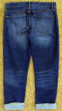 New Gap SEXY BOYFRIEND Jeans Slouchy Relaxed Loco Wash Blue Denim Pants Women 26