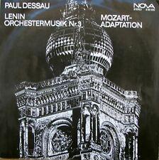 Paul Dessau Lenin, Symphonische Adaptionen LP NOVA - 8 85 020 German Democrat...