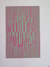Josef Albers Original Silkscreen Folder XVIII-3/Right Interaction of Color 1963