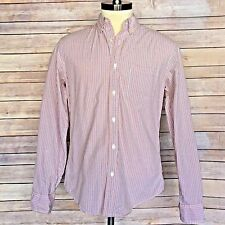J.CREW Mens Long Sleeve Dress Shirt Plaid Checkered Button Down Size Medium