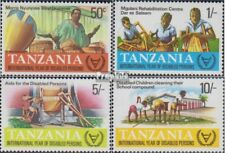 tanzanie 185-188 (complète edition) neuf avec gomme originale 1981 Année le Behi