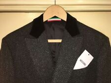 Woolen Funnel Neck Overcoat Coats & Jackets for Men