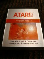 SWORDQUEST EARTHWORLD for ATARI 2600 ▪︎ CARTRIDGE ONLY ▪︎FREE SHIPPING ▪︎