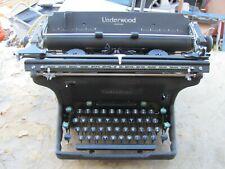 """Vintage Underwood Standard Typewriter  Manual 14"""" Made USA 14-6218597"""