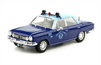 IKA Renault Torino Sedan 1970 Police Rare Argentina Diecast Scale 1:43 +Magazine