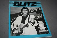 BLITZ THE R´n´ROLL MAG FOR THINKING PEOPLE# 57 -  RICK NELSON COVER (1986)
