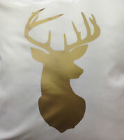 Stags Head Cushion Covers/Country/Rustic animal Head Cushion Covers