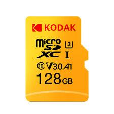 Kodak 128GB Micro SD SDXC TF Card Ultra High Speed U3 V30 100M/s fr Camera P5S4
