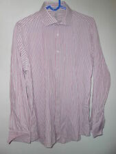 Cotton Blend Striped NEXT Double Cuff Formal Shirts for Men