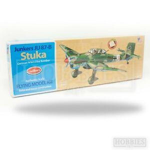 Guillows Balsa Wood Plane Kit Junkers Stuka Rubber Powered Flying Model