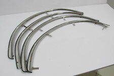 Toyota Corolla KE70 TE71 Fender Trim Arch Flares Chrome Front And Rear 4 PCS SET