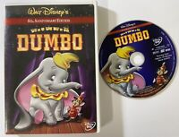 Walt Disney Dumbo (DVD, 2001, 60th Anniversary Edition) Tall case Chapter pg DVD
