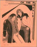 "Star Trek TOS Fanzine ""On The Double 1,2,3,4,5,6,7/8,9,11"" SLASH K/S Newsletter"