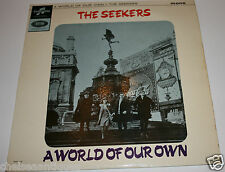 "1965 The Seekers A World of Our Own Vintage 12"" Vinyl LP Record EMI Records UK"