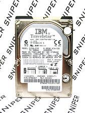 IBM 6GB TravelStar DJSA-210 IDE 07N6467 Laptop Hard Drive WIPED & TESTED