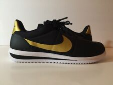 "NIKE CORTEZ ULTRA QS ""BRUNO MARS"" BLACK/GOLD 882493 001 Men's Shoes NEW Size 9"