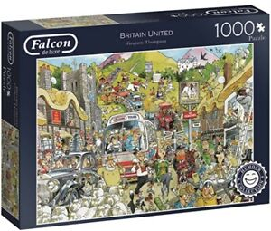 Britain United Graham Thompson 1000 Piece Jigsaw Puzzle delivered with tracking