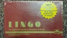Lingo  Adult Party Slang Game  1985 Vintage Sealed box Golden