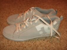 DC Shoes Court Vulc Gray White Mens Size 12