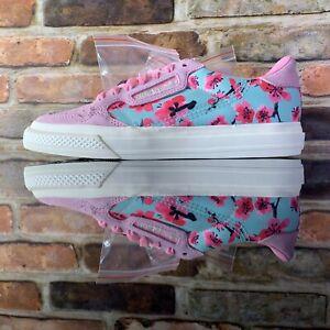 Adidas Contintental Vulc AriZona Womens Size 6 Iced Tea Flower EG7977