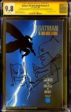 Batman The Dark Knight Returns 1 CGC 9.8 SS Sketch  FRANK MILLER Klaus Janson