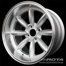 """17"""" ROTA RB-X 4/114.3 -13 Silver WHEELS RIMS TOYOTA, HONDA, HYUNDAI, KIA"""