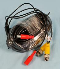 New 60' Roll of Bnc Cct Surveillance Security Camera Cable