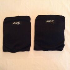 Ace volleyball knee pads 1 pair Adult one size unisex protective padding black