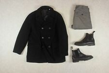 Our Legacy - Wool Pea Coat - Black - 46/Small