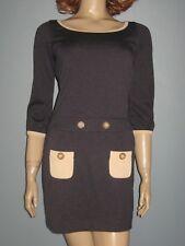 "REVIEW!!!** NWT$189.95!! ""Ponti Contrast Pocket"" Dress!! 8"