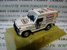 GC2E 1/43 norev M6 Paris/Dakar : MERCEDES 280 GE Texaco 1983 J.ICKX Winner 1st