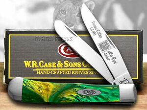 Case xx Trapper Knife Cat's Eye Genuine Corelon 1/500 Pocket 9254CE