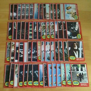 60 x Topps STAR WARS Trading Cards 1977 - Series 2 - Red Border (US Version).