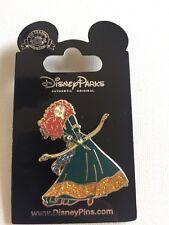 Brave Princess Merida Bow and Arrow Glitter Dress Disney Parks Trading Pin NEW